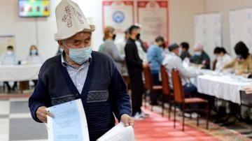 Kyrgyzstan approves constitution boosting president's power