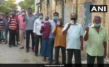 In Pictures: Voting For Phase 5 Begins In Bengal Amid Tight Security