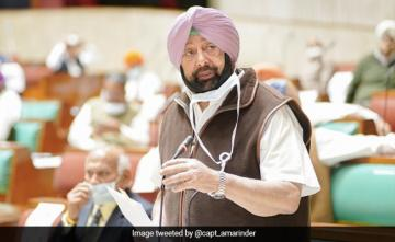 'Not Saying Don't Export Vaccines, But India First': Amarinder Singh