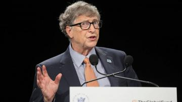 Gates helps launch drive for global vaccine distribution
