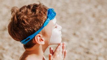 Our Kids Aren't Wearing Enough Sunscreen