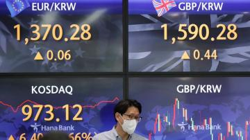 Global stocks, US futures mixed as virus cases surge in Asia