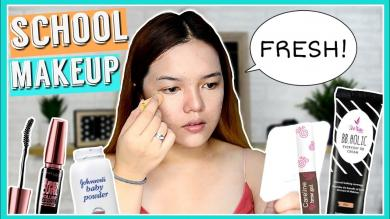 BACK TO SCHOOL MAKEUP TUTORIAL (On a BUDGET!) | Philippines