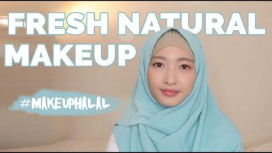 FRESH NATURAL RAMADAN MAKEUP TUTORIAL (HALAL MAKEUP BRAND)