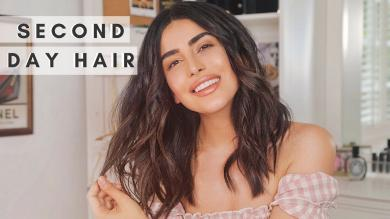Soft Beach Waves Hair Tutorial (EASY)