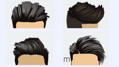 10 HAIRSTYLES TUTORIALS FOR MENS 2018