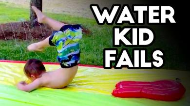 KIDS AND WATER EPIC FAILS! Funny Kid & Babies Summer Compilation June 2018