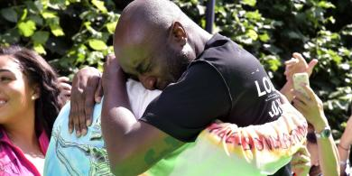 Kanye West and Virgil Abloh Hugged Each Other and Sobbed at Abloh's First Louis Vuitton Men's Show