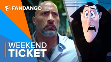 In Theaters Now Skyscraper, Hotel Transylvania 3 Summer Vacation | Weekend Ticket