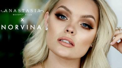NEW! ANASTASIA x NORVINA NATURAL MAKEUP TUTORIAL