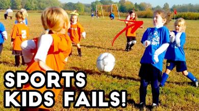 Soccer Ball to the FACE! | Kids Sports Fails | Fail Videos AUGUST 2018