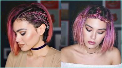 11 Beautiful Hairstyle Ideas For Short Hair Short hairstyles tutorial