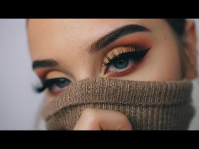 AUTUMN LEAVES | Fall Makeup Tutorial