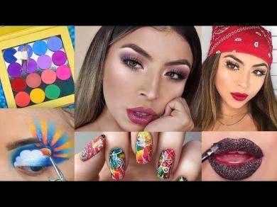 EVERYDAY BEAUTY TIPS for Face,Nails and Hair #25 Beauty life hacks tutorials!Makeup Compilation