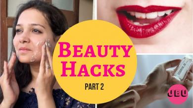 BEAUTY HACKS EVERY GIRL SHOULD KNOW MAKEUP, HAIR, NAILS (Part 2)