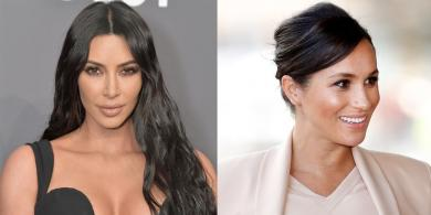 Kim Kardashian Has the Same $65 Skincare Secret as Meghan Markle
