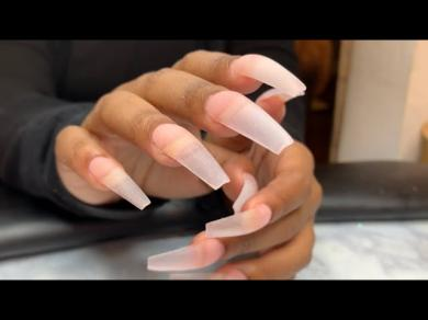 Acrylic Nails Tutorial | Acrylic Fill | Real Time Video