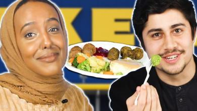 We Try Ikea Food Court Items
