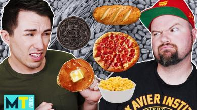 Men Try GlutenFree vs Gluten Taste Test