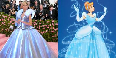 All the Celebs Who Were Inspired by Disney Characters at the 2019 Met Gala