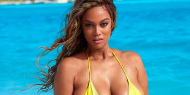 Tyra Banks is Back On the Cover of Sports Illustrated 23 Years Later