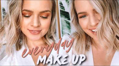 My Everyday Makeup Tutorial (How I do my makeup for filming!) Kayley Melissa
