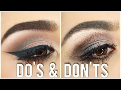 Eyeshadow Dos and Donts | Tips, Tricks & What Brushes to Use! | Roxette Arisa