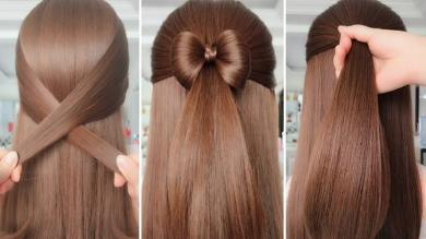 SIMPLE HAIRSTYLES FOR EVERYDAY Hair Tutorials