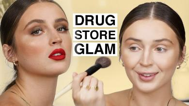 GETTING GLAM ON A BUDGET Drugstore Makeup Tutorial