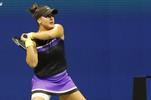 Andreescu ends Townsend's run to reach U.S. Open quarters