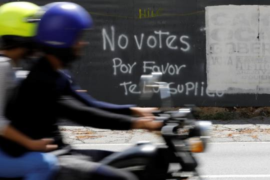 A Venezuelan paradox: Maduro's critics long for change but won't vote