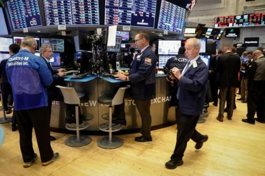 Wall St. gains as small-cap Russell 2000 hits record