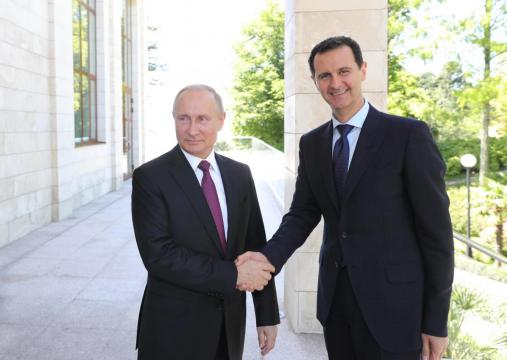Syria's Assad flies to Russia for talks with Putin: Kremlin