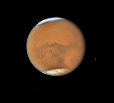 It's prime time for watching Mars – plus a total lunar eclipse that you can see online