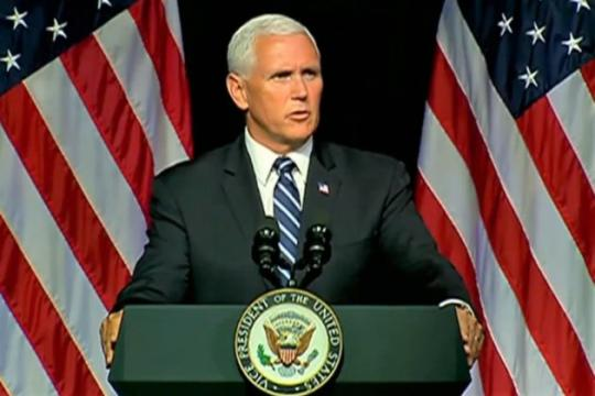 VP Mike Pence details plan to create Space Force (sans starship troopers) by 2020