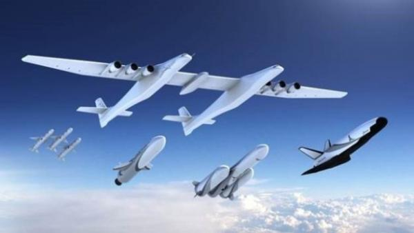 Paul Allen's Stratolaunch unveils plans for new family of rockets (and a space plane)