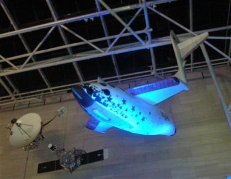 How the Air and Space Museum signed up for a SpaceShipOne tribute to Paul Allen