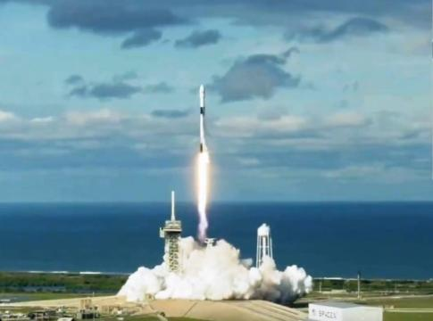 SpaceX launches Qatar's Es'hail-2 telecom satellite, and then lands Falcon 9 booster