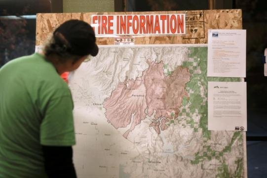 Hundreds of volunteers to search for California wildfire remains