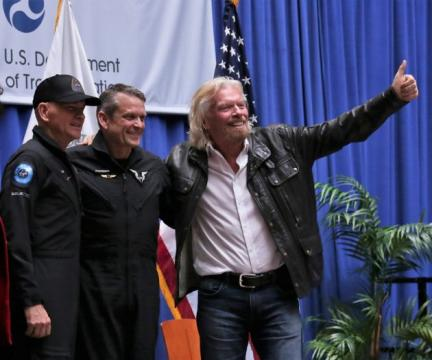 Virgin Galactic's pilots get first commercial astronaut wings awarded in 15 years