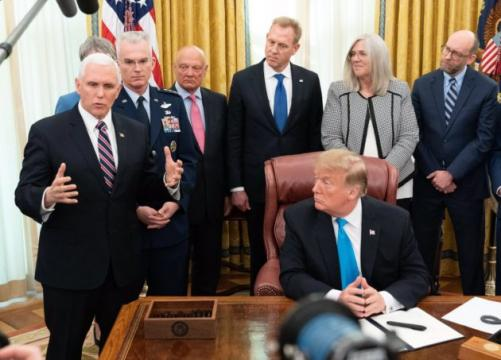 President Trump signs directive to create new Space Force under the Air Force's wing