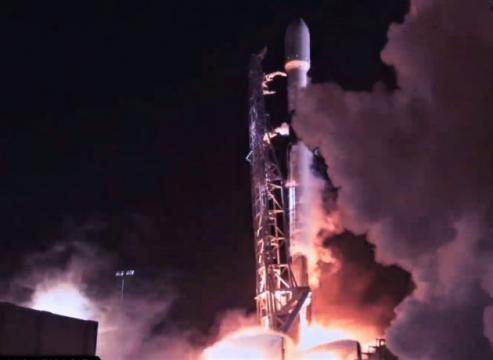 'Big step for Israel': SpaceX launches lunar lander along with high-flying satellites