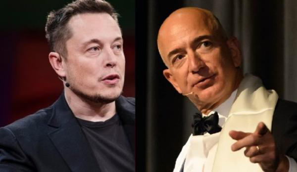 Meow! Elon Musk calls Jeff Bezos a satellite copycat — and gets called out