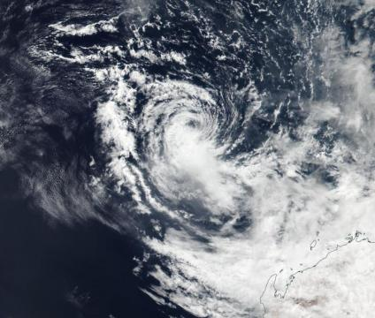 NASA-NOAA satellite sees Tropical Cyclone Wallace dissipating
