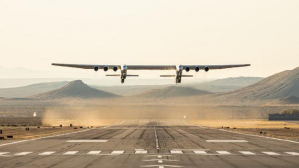 Paul Allen's Stratolaunch flies world's biggest plane for the first time: 'Paul would have been proud'