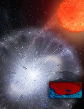 Cosmic dust reveals new insights on the formation of solar system