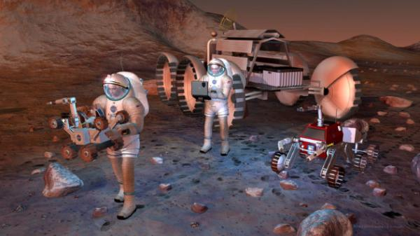 Amid the talk about moon missions, Mars fans push for a share of the space spotlight