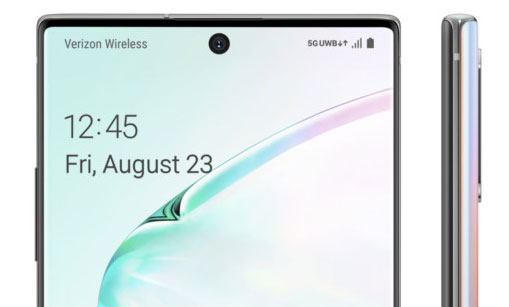 Samsung Galaxy Note10+ 5G appears in final render with August 23 release date