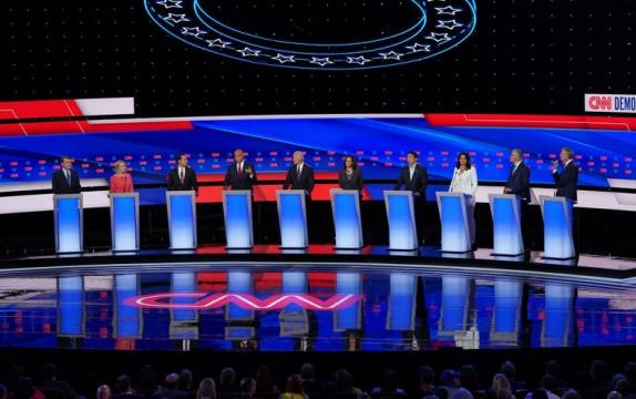 In Second Democratic Debate, Candidates Criticize Biden's Climate Plans