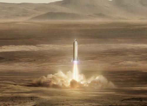 NASA checks SpaceX's potential Starship landing sites on Mars, with water in mind